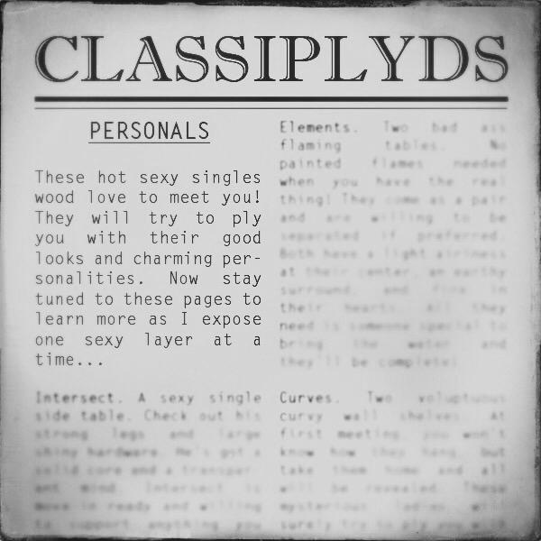 CLASSIPLYDS in B&W